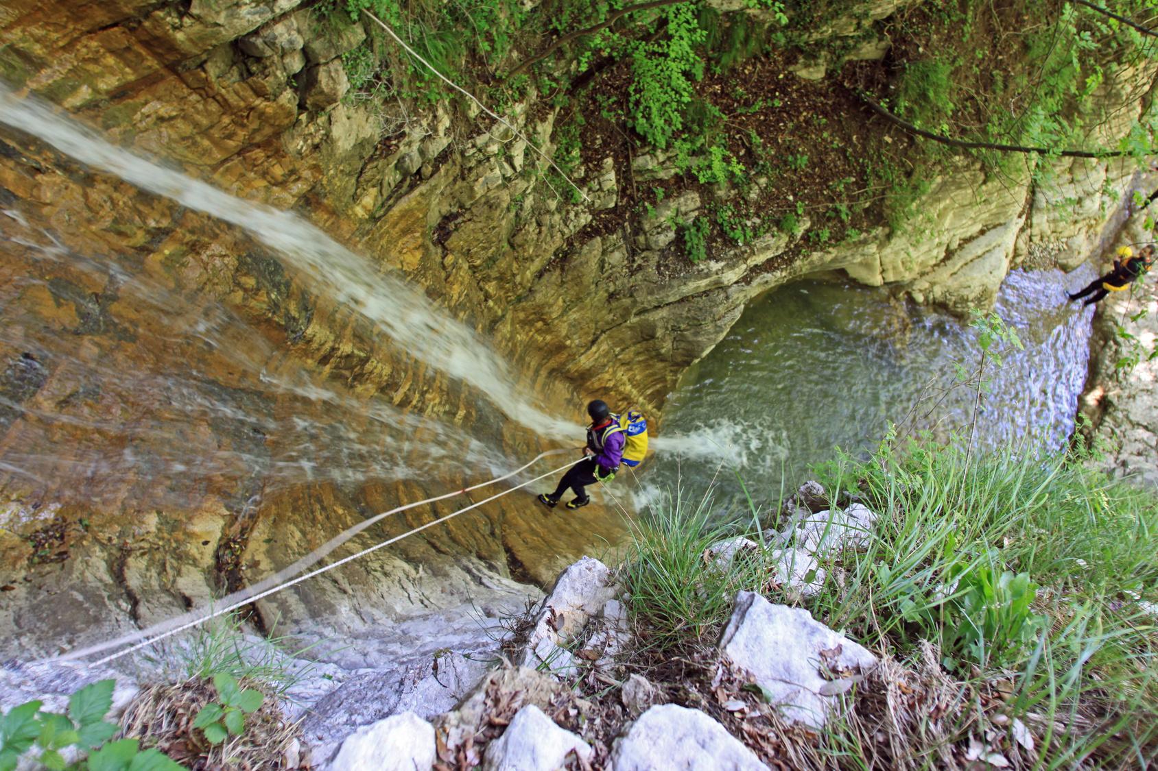 Torrentismo a Tignale Sport Klettern